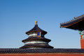 Temple of heaven ancient chinese architecture Royalty Free Stock Image