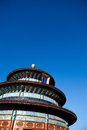 Temple of heaven ancient chinese architecture Royalty Free Stock Photography