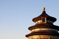 Temple of heaven ancient chinese architecture Stock Images