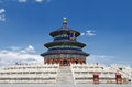 Temple of Heaven in Beijing, China Royalty Free Stock Images