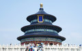 Temple of Heaven in Beijing, China Royalty Free Stock Photo
