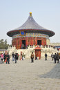 Temple of heaven beijing china Royalty Free Stock Images