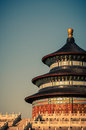 Temple of heaven the in beijing china Stock Photo