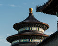Temple of heaven the in beijing china Stock Photography
