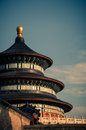 Temple of heaven the in beijing china Royalty Free Stock Photos