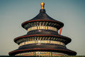 Temple of heaven the in beijing china Stock Image