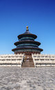 Temple of heaven beijing china the is an old that is a center both international and national tourists blue sky is rarely seen on Stock Images