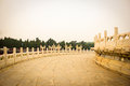 Temple of heaven in beijing china the scenery Stock Images