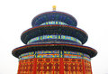 Temple of heaven of beijing the in tourism landscape Stock Photos