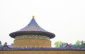 Temple of heaven of beijing the in tourism landscape Royalty Free Stock Photo