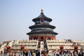 The temple of heaven tiantan is symbol ancient capital beijing tiantan is main building also called prayer hall is Stock Images
