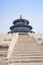Temple of heaven the was built in it remain intact through the ming and qing dynasty and it is included in the unesco world Stock Photos
