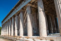 The Temple of Hephaestus in Agora. Athens, Greece. Royalty Free Stock Photo