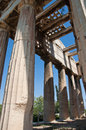 The Temple of Hephaestus in Agora. Athens, Greece. Royalty Free Stock Image