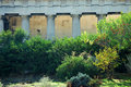 Temple of Hephaestus in Athens Royalty Free Stock Image