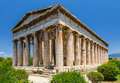 Temple of hephaestus in athens ancient agora greece Stock Photos