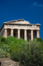 The Temple of Hephaestus in Athens, Greece. Royalty Free Stock Image
