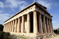 Temple of Hephaestus ('Theseion'), Athens Royalty Free Stock Images