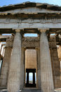 Temple Hephaisteion (Theseion) Photographie stock libre de droits