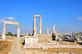 Temple of Hercules Royalty Free Stock Images