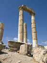 Temple of Hercules in Amman Ci Royalty Free Stock Images