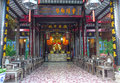 The temple in hoi an ancient town vietnam is taken Royalty Free Stock Images