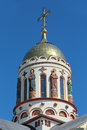The temple of the holy equal of the apostles great prince vladim russia krasnodar krai sochi city dome vladimir Stock Image