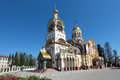 The temple of the holy equal of the apostles great prince vladim russia krasnodar krai sochi city vladimir Royalty Free Stock Photos