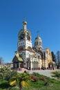 The temple of the holy equal of the apostles great prince vladim russia krasnodar krai sochi city vladimir Stock Photography