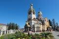 The temple of the holy equal of the apostles great prince vladim russia krasnodar krai sochi city vladimir Royalty Free Stock Photography