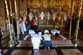Temple of the holy sepulcher jerusalem church resurrection christ stands on spot where according to scriptures was crucified Stock Image