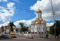 Temple of the Holy Trinity in Ivanovo Stock Photos