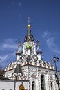 Temple of icon of the mother of god soothe my sorrows saratov russia Stock Photography