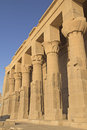 The Temple of Isis at Philae Island Stock Photos