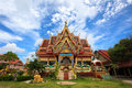 Temple on the island of Koh Samui, Thailand Stock Photography