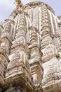 Temple Jagdish Temple in Udaipur, Rajasthan, India. April 2016