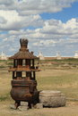 The temple of karakorum in mongolia Stock Photography