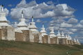 The temple of karakorum in mongolia Stock Photo