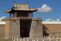 The temple of karakorum in mongolia Royalty Free Stock Photography