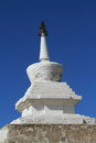 The temple of karakorum in mongolia Royalty Free Stock Photo