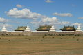 The temple of karakorum in mongolia Royalty Free Stock Images