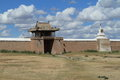 The temple of karakorum in mongolia Royalty Free Stock Photos