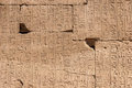 Temple of karnak egypt exterior elements Stock Photos
