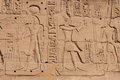 Temple of karnak egypt exterior elements Royalty Free Stock Photography