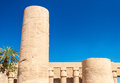 Temple of karnak egypt exterior elements Stock Photography