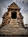 Temple in Khajuraho Royalty Free Stock Images
