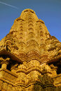 Temple in Khajuraho India Stock Images