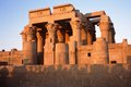Temple of Kom Ombo. Royalty Free Stock Photo