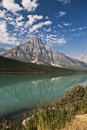 Temple Lake - Jasper National Park Stock Photos