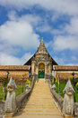 Temple in lampng thailand beatyfull lampang Royalty Free Stock Image